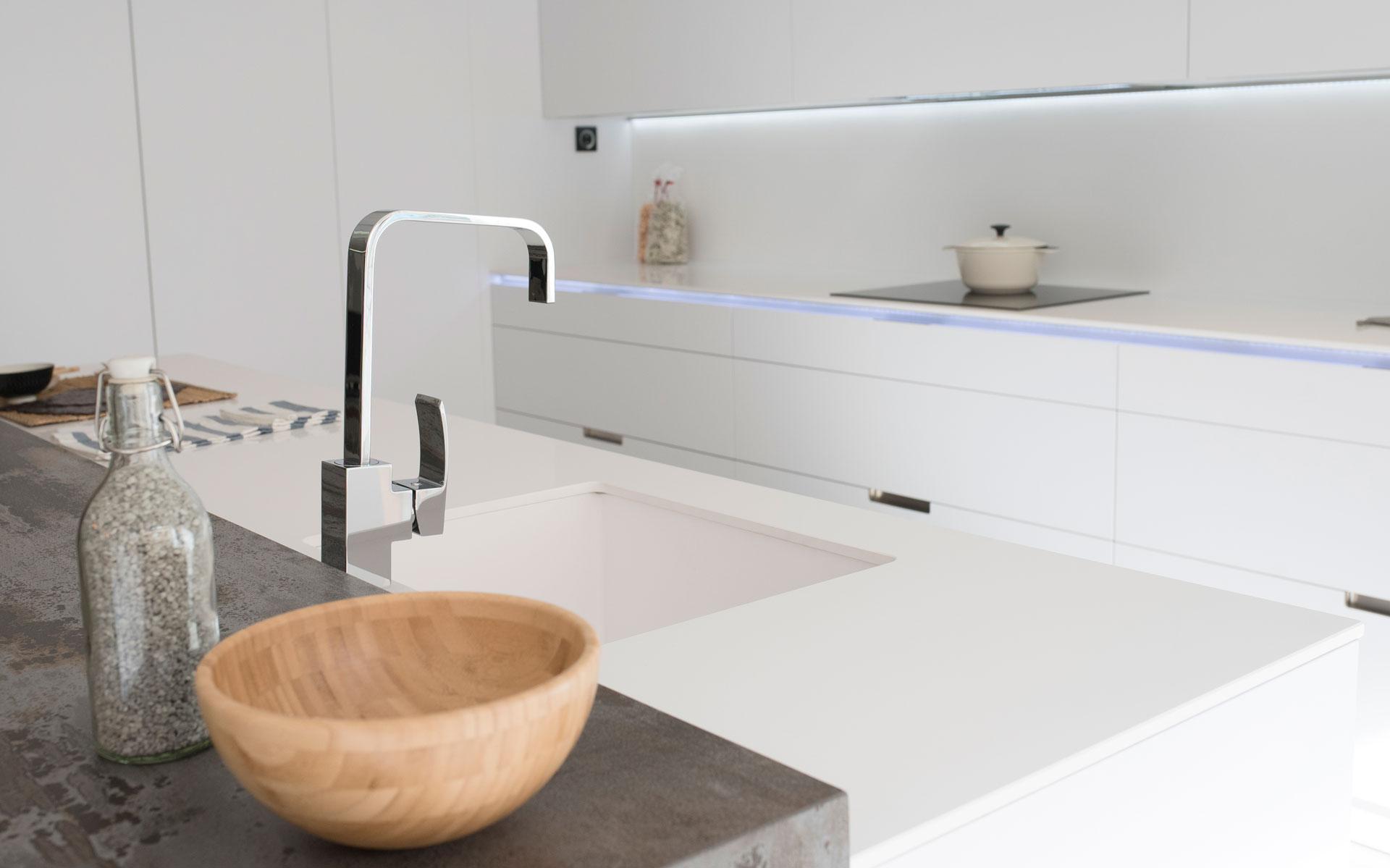Cocinas Lacadas Caracteristicas Arcomobel ~ Reparar Arañazos Muebles Lacados