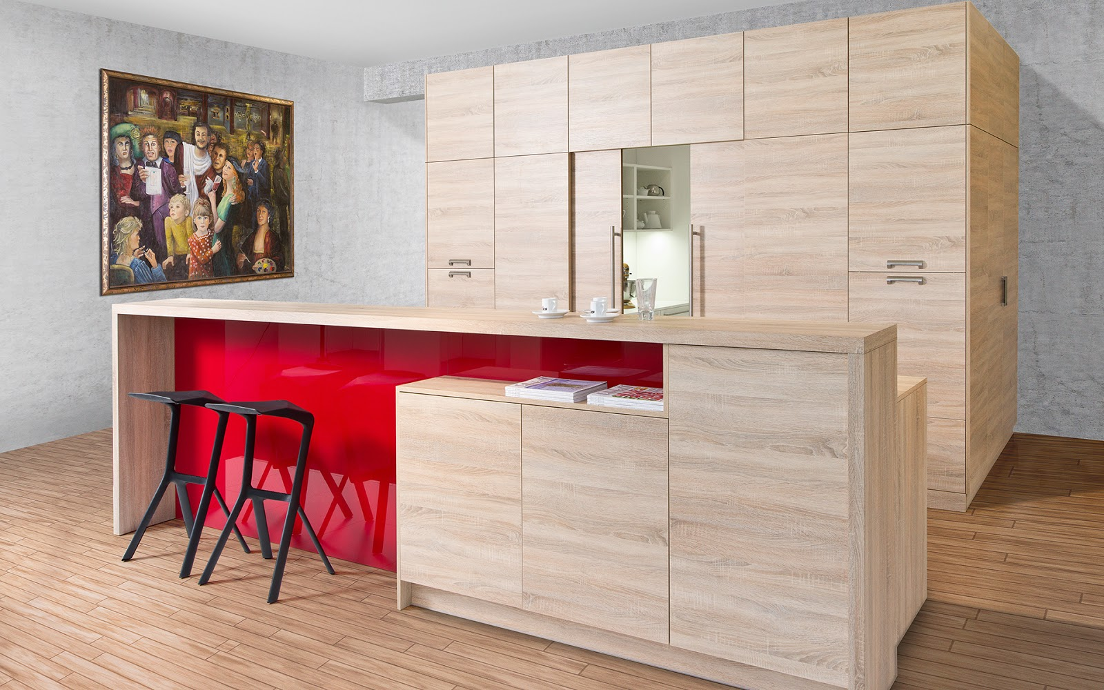 Barra para cocina11 arcomobel - Mesas de cocina tipo barra ...
