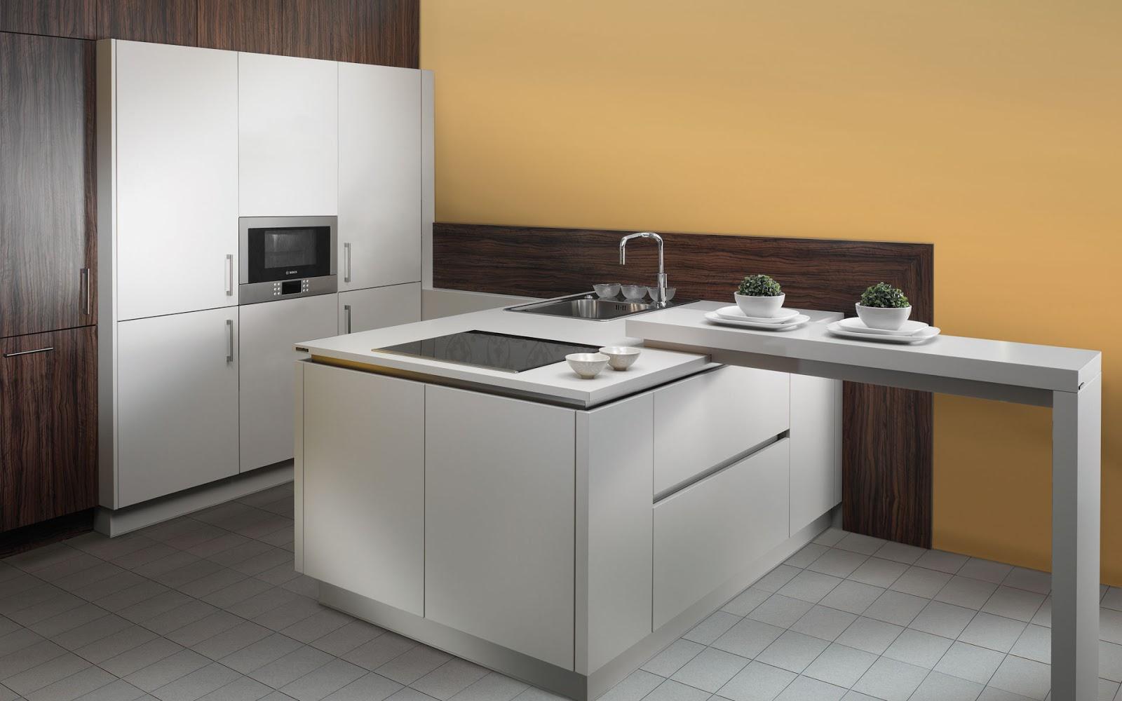 Mesas y barras para cocina arcomobel - Barras para cocinas ...