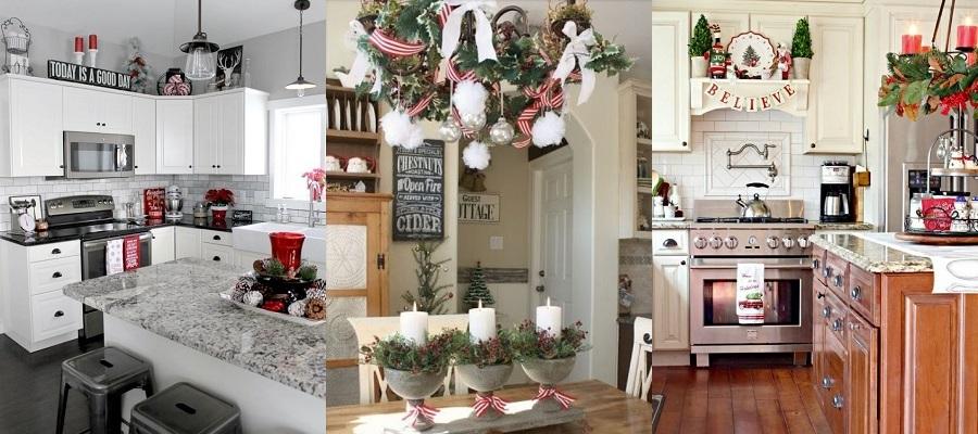 Cómo decorar tu cocina para Navidad